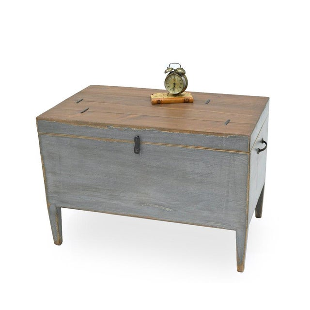 Sarreid Ltd. Trunk Storage Side Table For Sale In Raleigh - Image 6 of 6