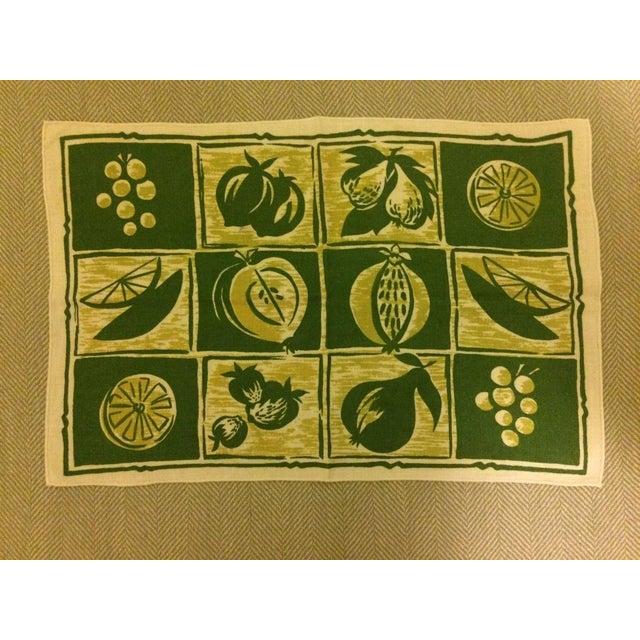Vintage Linen Placemats & Napkins - Set of2 - Image 4 of 4