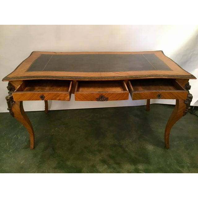 French French Writing Desk For Sale - Image 3 of 13