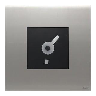 1980s Modernist Kieninger Wall Clock For Sale