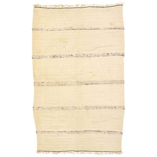 20th Century Moroccan Wedding Blanket - 4′ × 6′2″ For Sale
