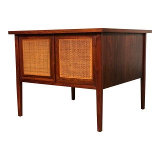 Founders Mid-Century Danish Modern Side Table Cabinet / Nightstand For Sale