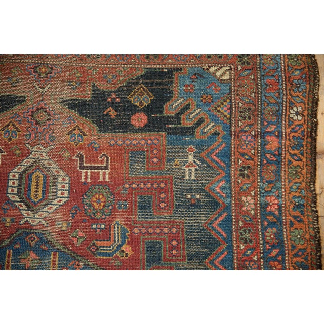 "Antique Hamadan Rug - 4'9"" X 7'11"" - Image 12 of 13"