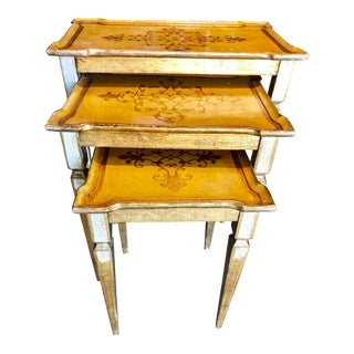 Florentine Nesting Tables For Sale