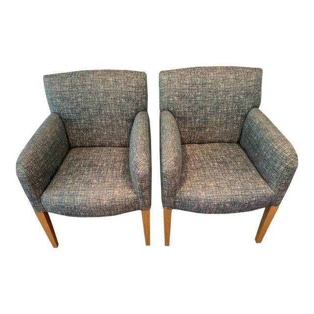 Vintage Donghia Club Chairs - a Pair For Sale