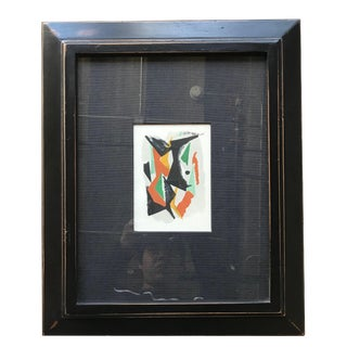 """1950s Vintage """"Abstract in Colors"""" Print Marino Marini For Sale"""