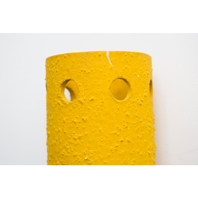 Yellow Ceramic Wall Sconce - Image 6 of 7