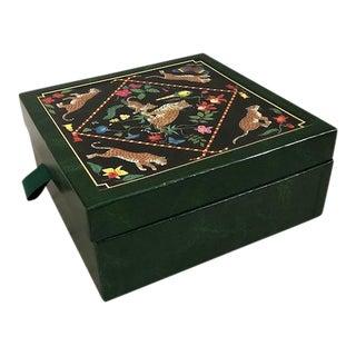 Lynn Chase Jaguar Jungle Jewelry Box For Sale