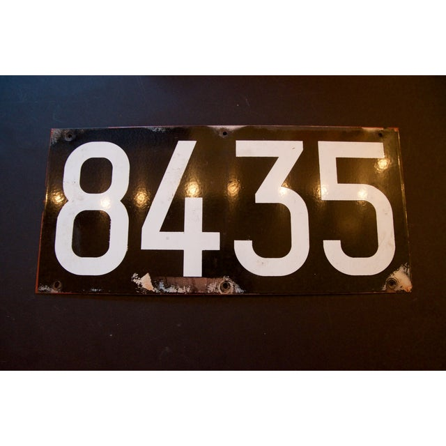 Enamel NYC Subway Plate from The Warriors Movie - Image 2 of 8