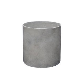 Modern Cylinder in French Grey For Sale