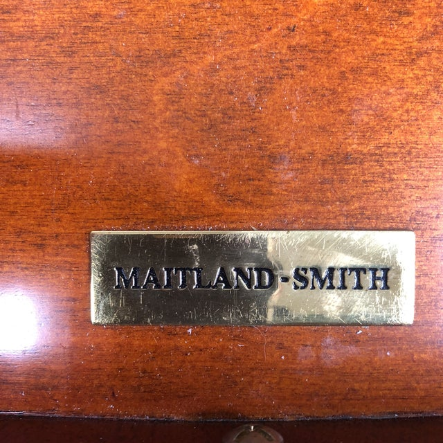 Maitland Smith Fruitwood Side Table - Image 6 of 7
