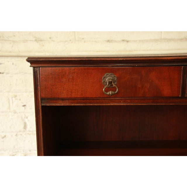 Vintage Imperial Mahogany Bookcase - Image 6 of 8
