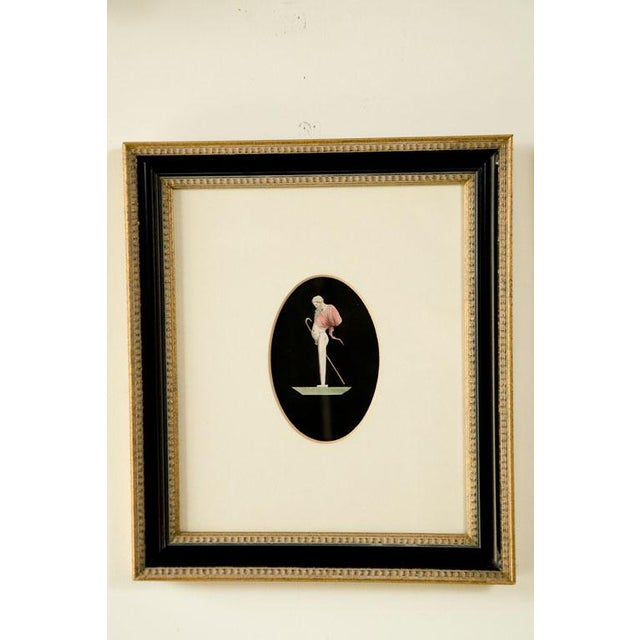 Neoclassical Mid 19th Century Hand Colored Herm Prints - a Pair For Sale - Image 3 of 7