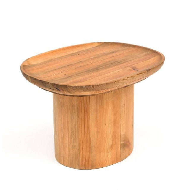An Utö table by Axel Einar Hjorth in solid pine for Nordiska Kompaniet, 1932.