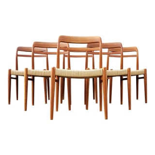 1960s Vintage Alf Aareth for Gustav Bahus Chairs - Set of 6 For Sale
