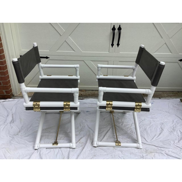 American McGuire Directors Chairs, 2 For Sale - Image 3 of 11