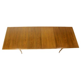 Robsjohn Gibbings for Widdicomb Mid-Century Modern Dining Table with Two Leaves For Sale