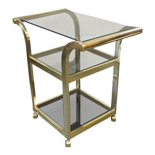 1960s Hollywood Regency Messin of Finland Bar Cart For Sale