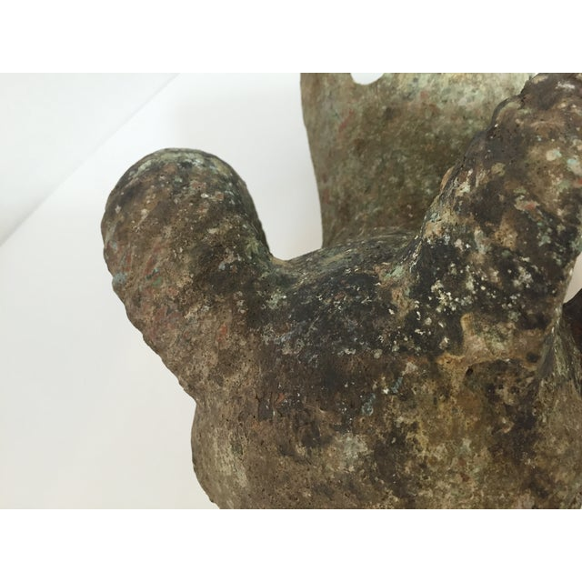 Stone Antique Ram's Head Architectural Finial For Sale - Image 7 of 8