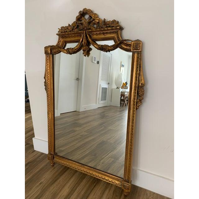Mid 20th Century Italian Rococo Style Mirror For Sale - Image 4 of 11