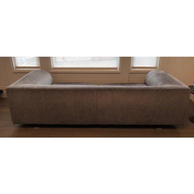 A wonderful upholstered 4-seat Roche Bobois sofa, Elixir model. Original purchased at Roche Bobois sf showroom NOTE: I...