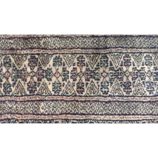 Late 20th Century Medallion Boteh Motif Rug - 3′11″ × 6′3″ For Sale - Image 5 of 13