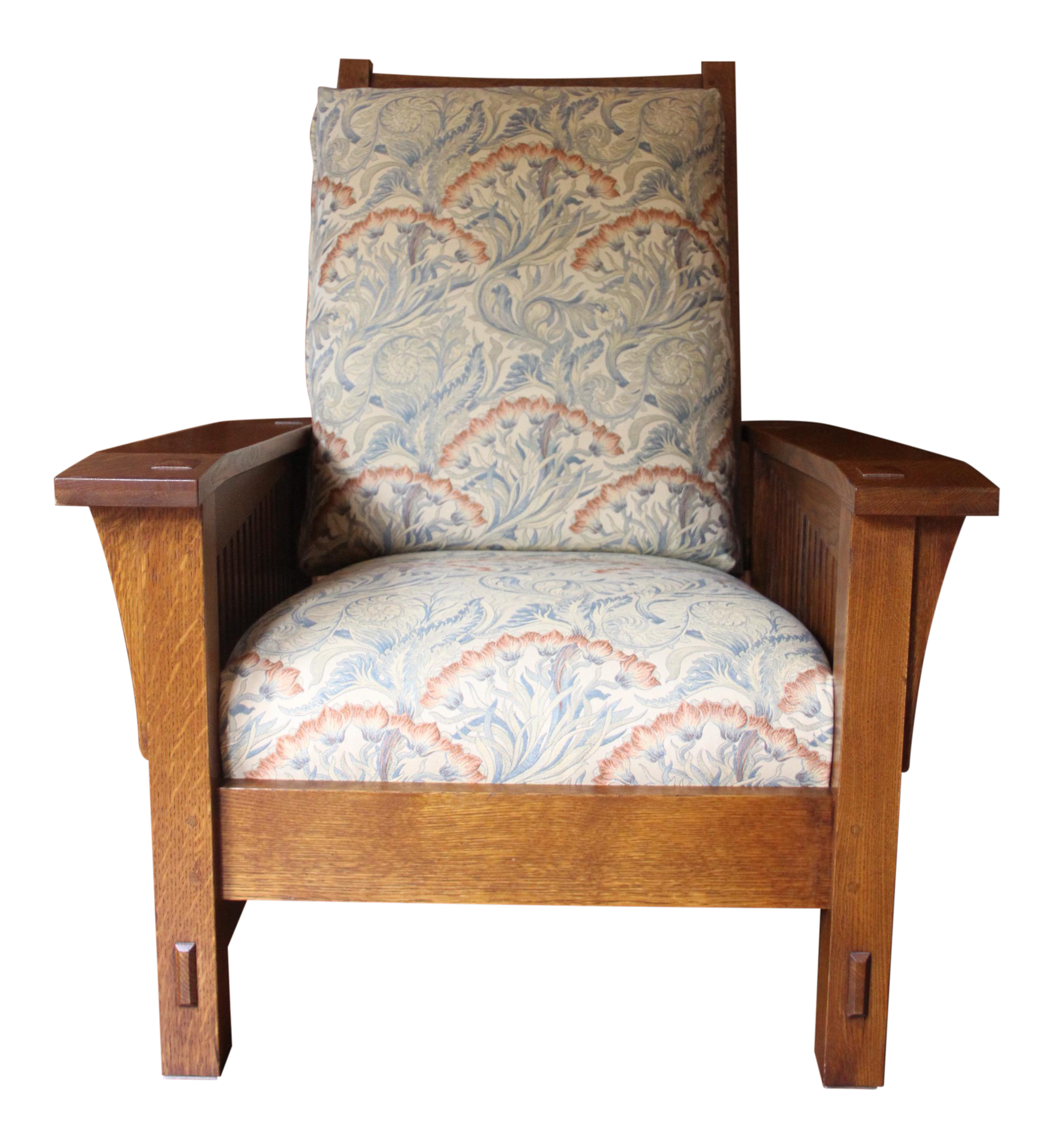 Stickley Spindle Morris Chair