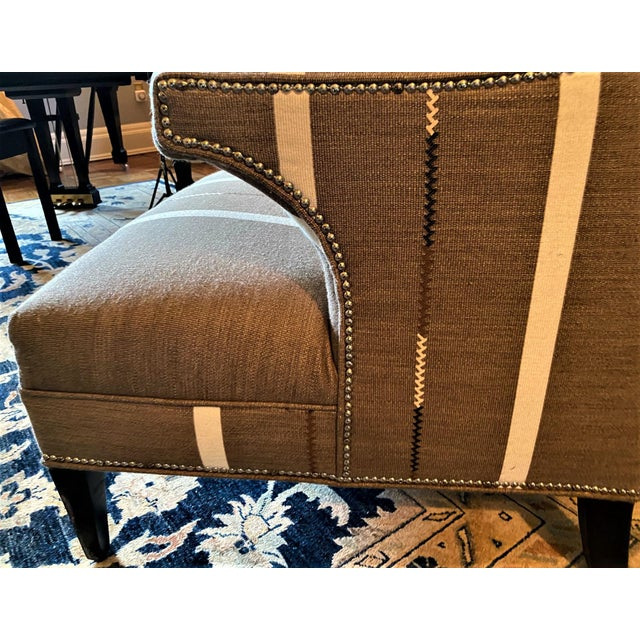 Hans Wenger Style Contemporary Armchairs - a Pair For Sale In New York - Image 6 of 11