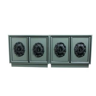 Vintage Lane Furniture Cabinets - A Pair
