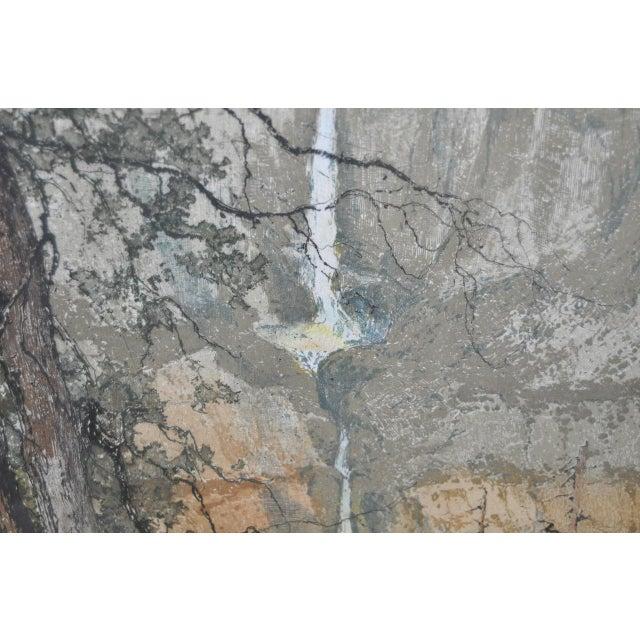 Yosemite Falls Etching by Luigi Kasimir - Image 9 of 10
