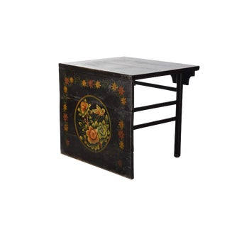19th Century Chinoiserie Hand Painted Console Table For Sale