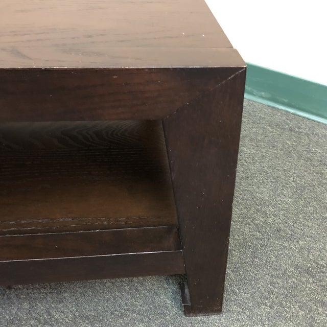 West Elm Zen Wood Coffee Table