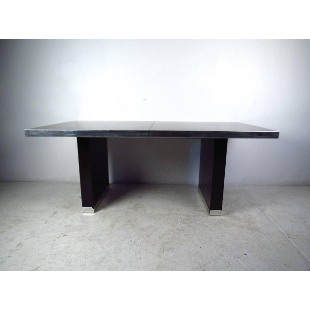 Late 20th Century Modern Dining Table by Pierre Cardin For Sale - Image 5 of 11