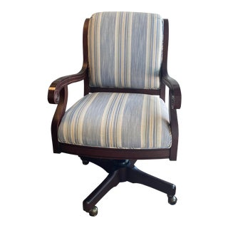 Chervan Custom Upholstered Desk Chair For Sale
