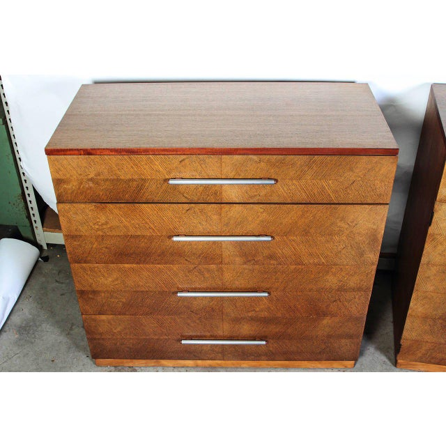 Gilbert Rohde Herman Miller Art Deco 1933 World's Fair Dressers Matched Pair For Sale In Dallas - Image 6 of 11