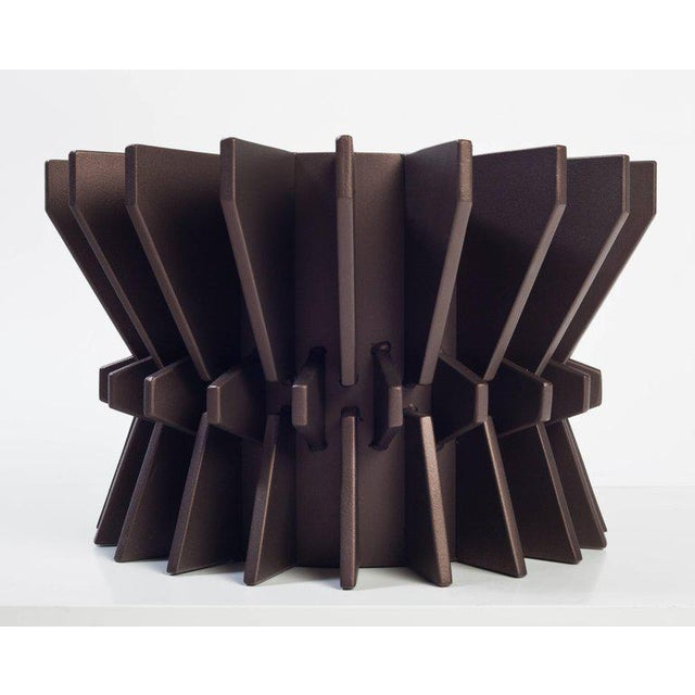 2010s Cosmos Steel Planter by Harry Clark For Sale - Image 5 of 5