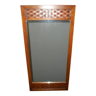 20th Century Danish Lane Perception Mirror For Sale