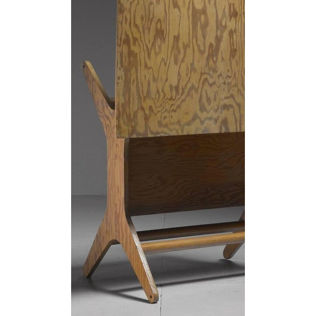 1950s Klaus Grabe Rare Height-Adjustable Dining or Coffee Table, USA, 1950s For Sale - Image 5 of 6