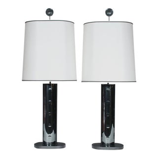 Roberto Rida Jewel Table Lamps - A Pair For Sale