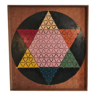 Moving Sale - Make and Offer - Everything Has Go to Go -Hand Carved & Painted Chinese Checkers Board