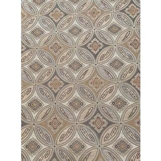 Mediterranean Pindler Sabella Travertine Fabric - 2 Yards For Sale