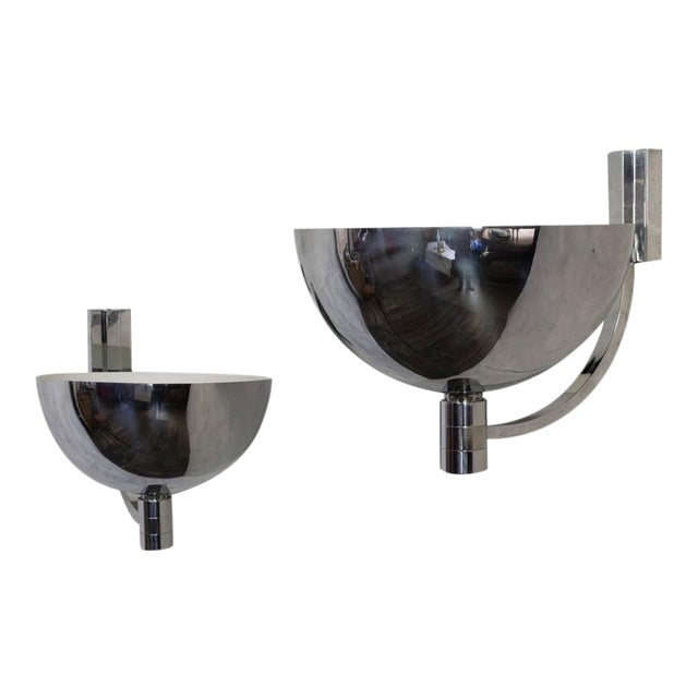 Pair of Large Sconces For Sale