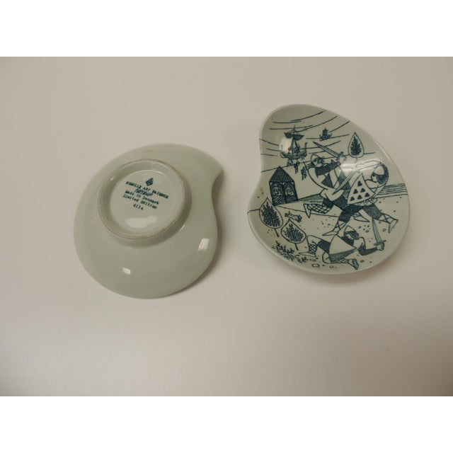 Vintage Small Candy/Peanut Porcelain Dishes For Sale - Image 4 of 5
