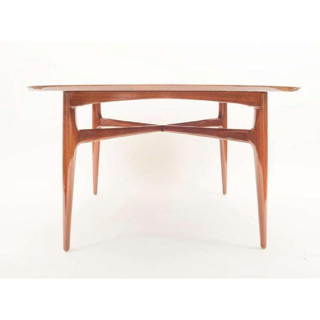 Mahogany Mid-Century Cocktail Table For Sale - Image 4 of 12