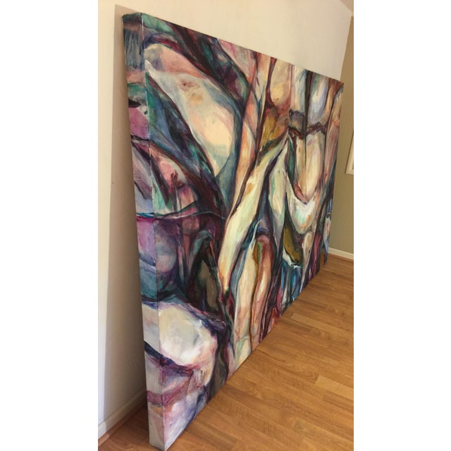 Jane Mikacich Contemporary Abstract Paintings - A Pair For Sale In Sacramento - Image 6 of 8