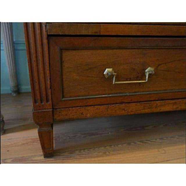 19th Century Louis XVI Commode/Desk For Sale - Image 5 of 10