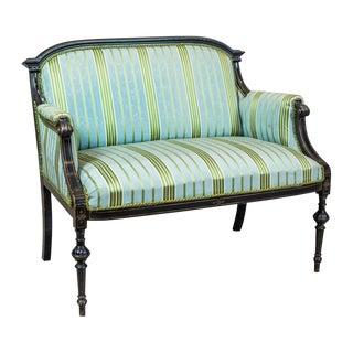 19th Century Upholstered Napoleon III Sofa For Sale