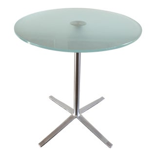 Walter Knoll Glass Top X-Base Table