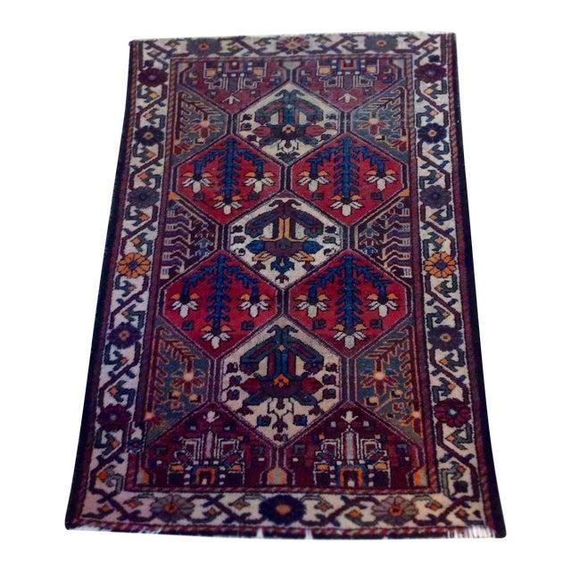Afghanistan Handmade Oriental Rug - 5′ × 7′ - Image 1 of 6