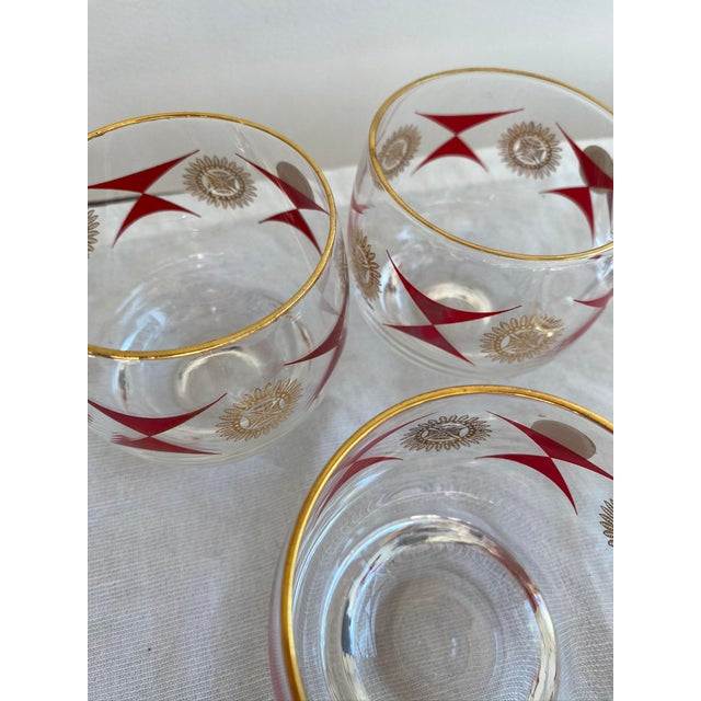 1960s Mid-Century Sasaki Roly Poly Tumbler Glasses - Set of 9 For Sale - Image 11 of 13